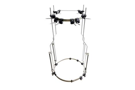 组合式可调头颅-骨盆固定支具